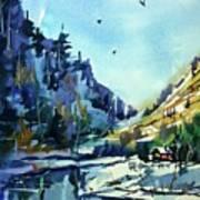 Watercolor3810 Art Print
