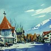 Watercolor3839 Art Print