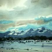 Watercolor4018 Art Print