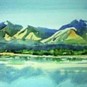 Watercolor4469 Art Print
