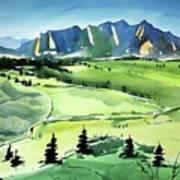 Watercolor4509 Art Print