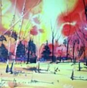 Watercolor4632 Art Print