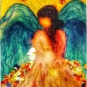 Watercolour Angel Art Print