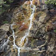 Waterfall At Lake Willoughby  Art Print