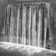 Waterfall Backdrop Art Print