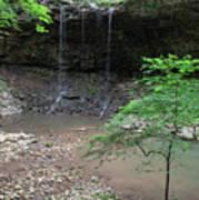 Waterfall Base Art Print