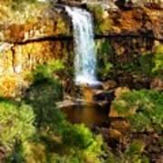 Waterfall Beauty Art Print