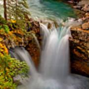 Waterfall Canyon Art Print