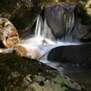 Waterfall Glenveagh National Park Art Print