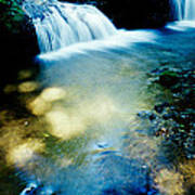 Waterfall Hilo Hi Art Print