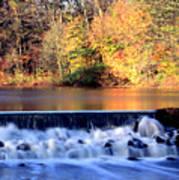 Water.fall Art Print