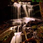 Waterfall Mcconnells Mills State Park Art Print