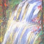 Waterfall Of El Dorado Art Print