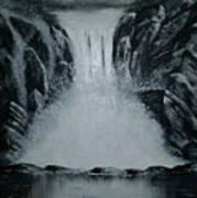 Waterfall Of Life Art Print
