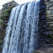 Waterfall Of The Grist Mill Art Print