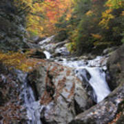 Waterfall Off Blue Ridge Parkway Art Print