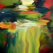 Waterfall On The Krka River Art Print