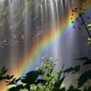 Waterfall Rainbow Art Print