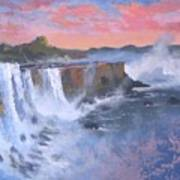 Waterfall Study Art Print