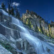 Waterfall Trail Art Print