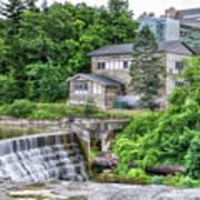 Waterfalls Cornell University Ithaca New York 04 Art Print