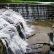 Waterfalls Cornell University Ithaca New York 06 Art Print
