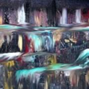 Waterfalls  Print by Kelly Turner