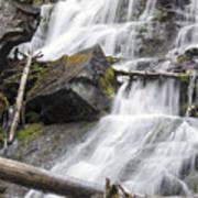 Waterfalls Of Lost Creek Art Print by Dana Moyer