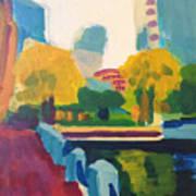 Waterfront Park, Boston Art Print