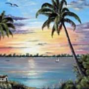 Waterfront Property Art Print