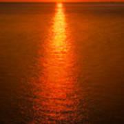 Waterfront Sunrise Art Print