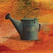 Watering Can H20 Art Print
