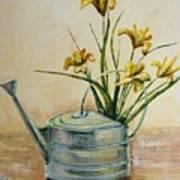 Watering Can Art Print