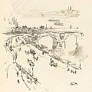 Waterloo Bridge Art Print