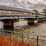 Waterloo Iowa Bridge Art Print