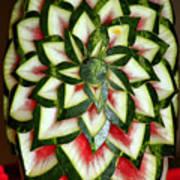 Watermelon Art Art Print