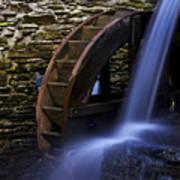 Watermill Wheel Art Print