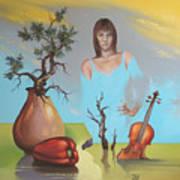 Watermusic Art Print