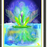 Waterplant2 Art Print