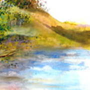 Waters Edge Art Print