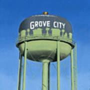 Watertower Grove City Art Print