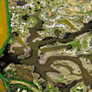 Waterworks 13 Art Print