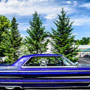 Watson - 1965 Cadillac Sedan Deville Art Print