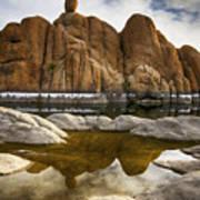 Watson Lake Arizona 11 Art Print