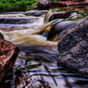 Wausau Whitewater Course Side View Art Print