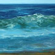 Wave Action Detail Art Print