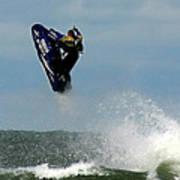 Wave Jumper Art Print