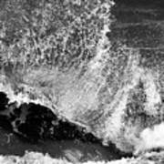 Wave Texture Art Print