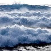 Wave Upon Wave Upon Wave Art Print