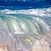 Wave Waterfall, Sunset Beach, Hawai'i Art Print
